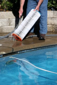 filter cleaning aqua shine pool service